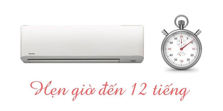 máy lạnh toshiba hẹn giờ