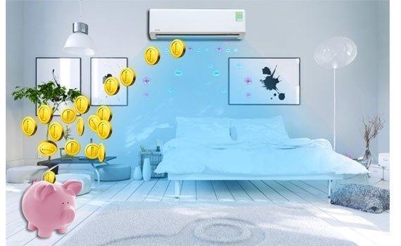 máy lạnh toshiba tiết kiệm điện